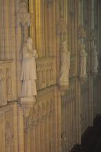 Ancien séminaire - Intérieur de la chapelle - Détail des stalles
