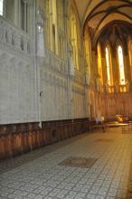 Ancien séminaire - Intérieur de la chapelle - Stalles