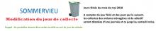 Ramassage des ordures ménagères.