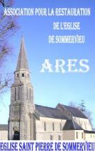 Carte postale de l'église