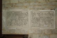 Eglise - Choeur - Epitathes de Jean le Cote