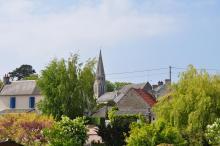 Eglise - Vue des jardins
