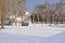 Manoir de Chédeville en hiver