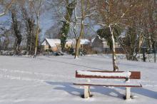 Parc Kleber Lissot en hiver - Autre vue