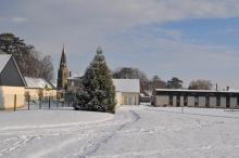 Parc Kleber Lissot en hiver - Vue générale