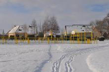Parc Kleber Lissot en hiver - Aire de jeux